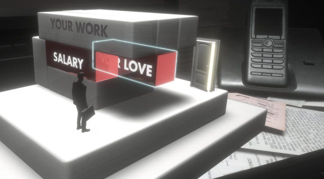 Satirischer PS VR-Puzzler Salary Man Escape erscheint heute – findet heraus, wie es entstand