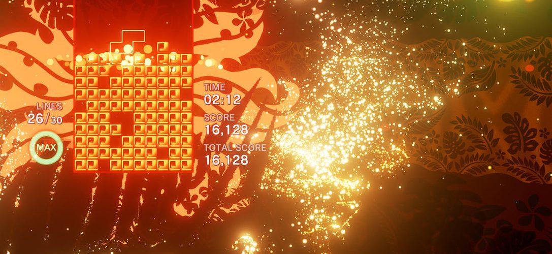 Wie Tetris Effect dem Jahrzehnte alten Spielprinzip eine neue, strategische Ebene hinzufügt