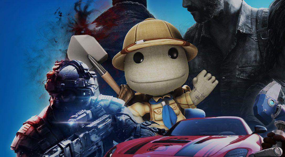 Wir präsentieren: PlayStation Hits. Beliebte PS4-Spiele zum tollen neuen Preis