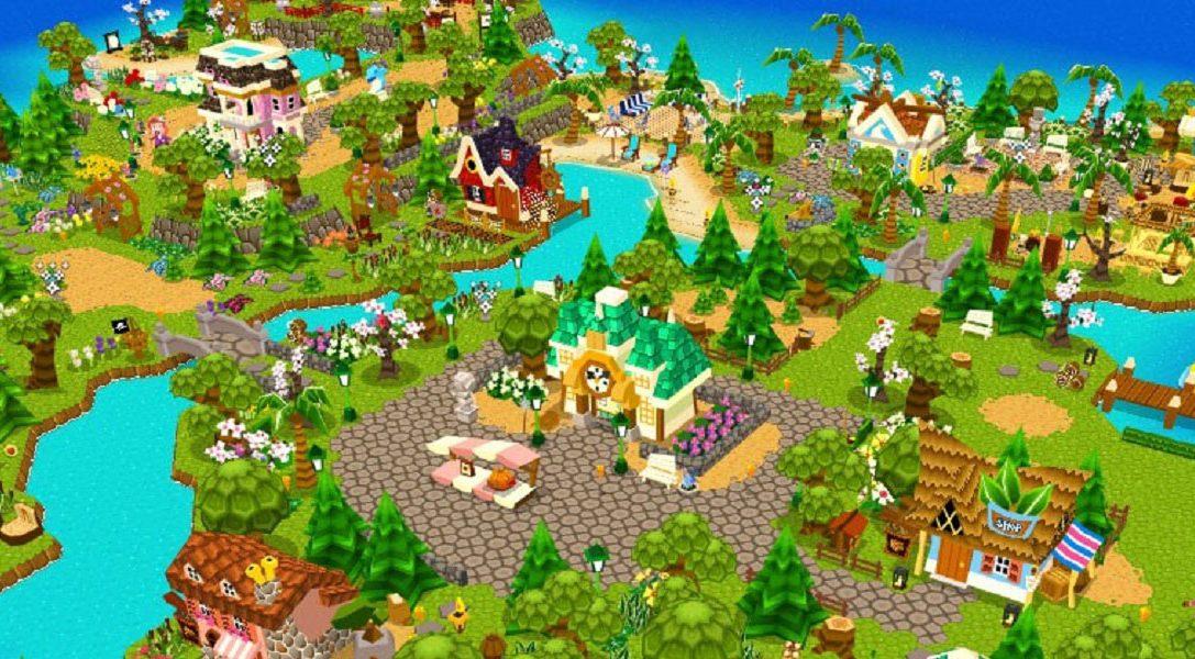 Städtebausimulation Castaway Paradise erscheint am 31. Juli auf PS4