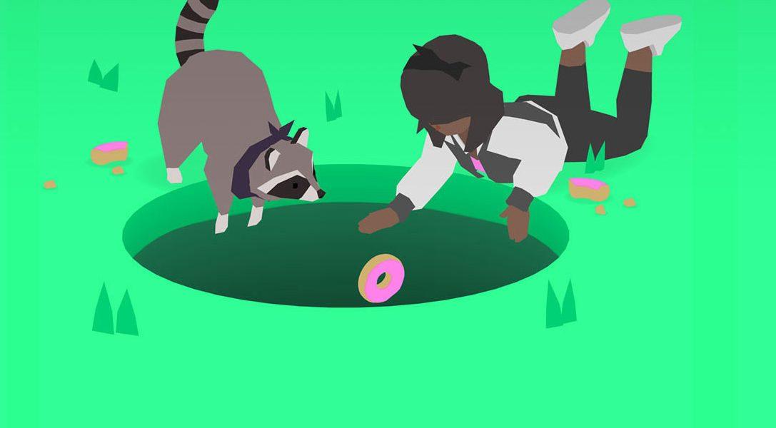 Donut County, ein Herzblutprojekt über müllfressende Waschbären, erscheint nächsten Monat auf PS4