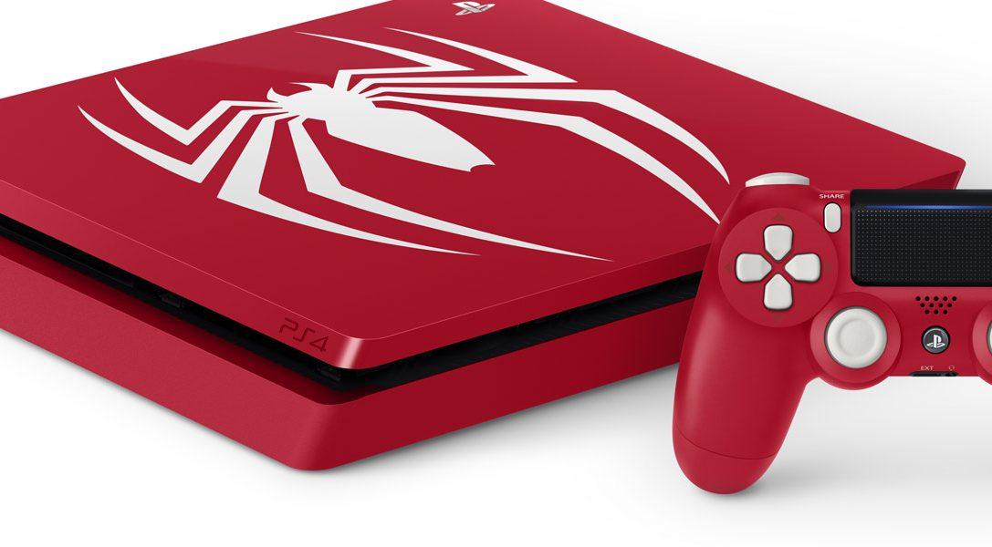 Wir präsentieren: die PS4 Pro- und PS4-Pakete zu Marvel's Spider-Man in limitierter Auflage