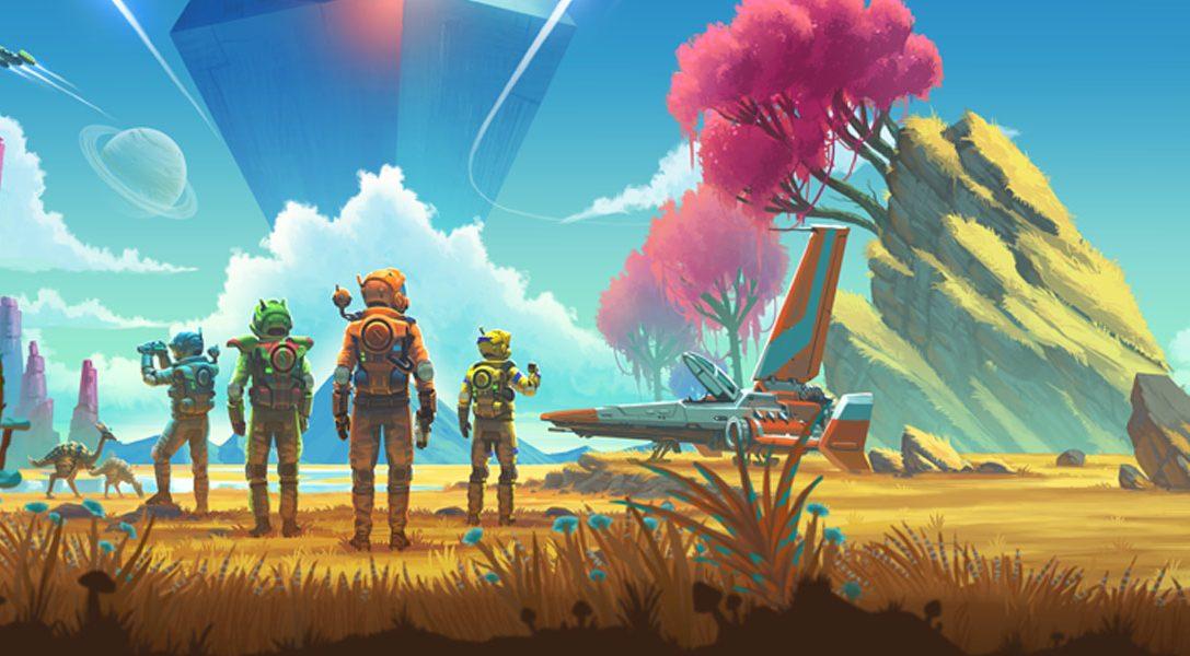 Seht euch den Multiplayer- und den Third Person-Modus von No Man's Sky schon vor dem Launch nächste Woche an