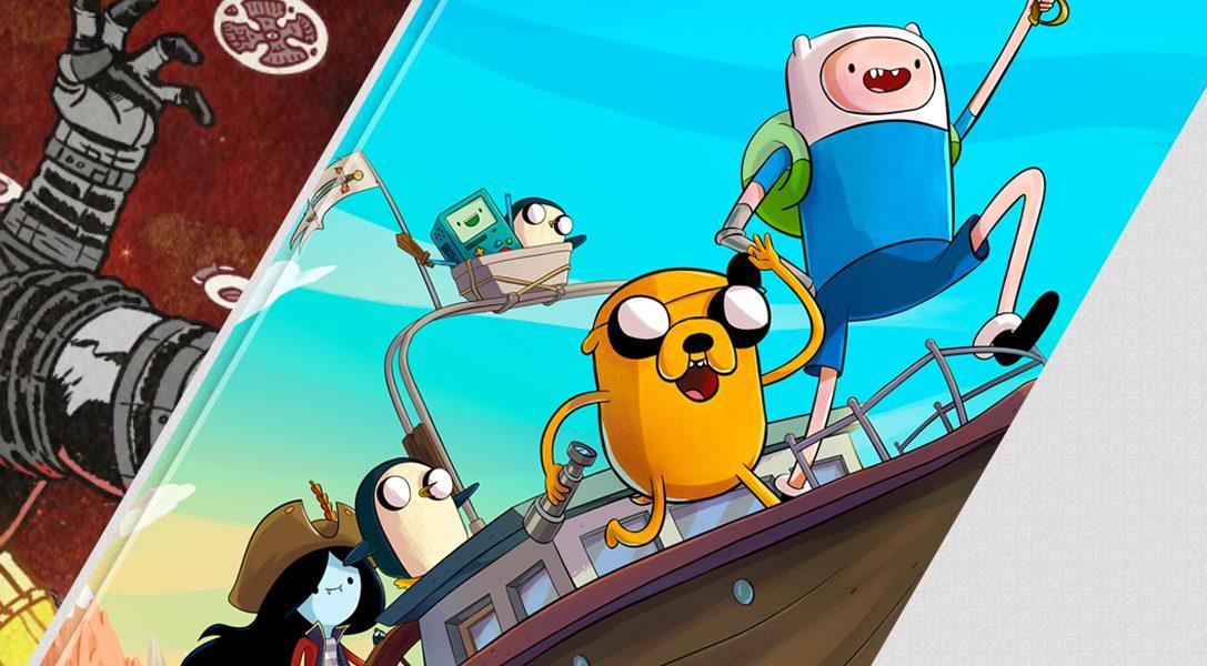 Das sind die Highlights dieser Woche im PlayStation Store: Far Cry 5 DLC: Gestrandet auf dem Mars, Adventure Time: Piraten der Enchiridion sowie Tempest 4000
