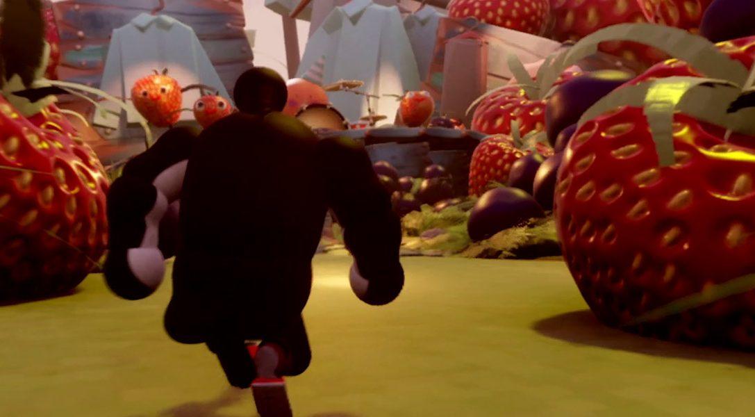 """Vorhang auf für """"The Adventures of Mega Penguin"""" (Die Abenteuer des Megapinguins) – Media Molecules außergewöhnliches Dreams-Spiel, das auf der E3 entstanden ist"""