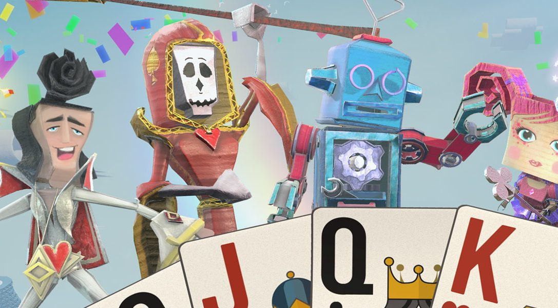Das kartenbasierte Party-Spiel Just Deal With It! bereichert ab November das PlayLink-Angebot auf PS4