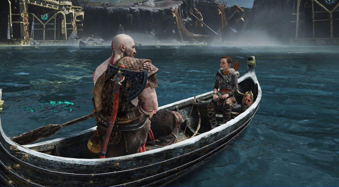 Ein Blick unter die Haube des Bootes aus God of War