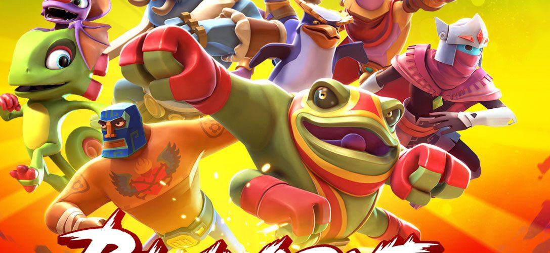 Yooka-Laylee schließt sich den Brawlout-Kämpfern an, erscheint heute auf PS4
