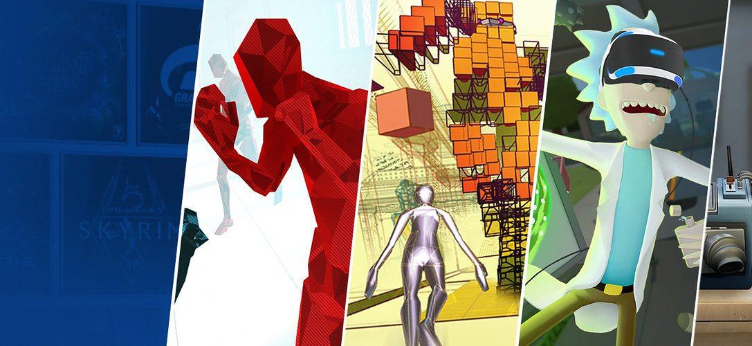 13 großartige PS VR-Erlebnisse, die dieses Wochenende im PlayStation Store runtergesetzt sind
