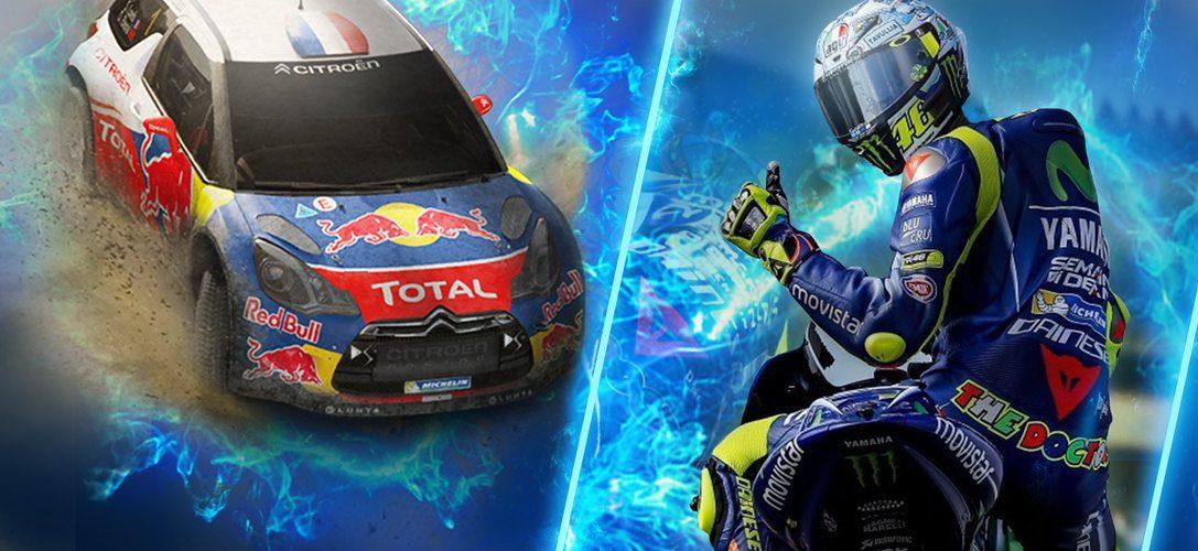 Sébastien Loeb Rally Evo, Valentino Rossi und Mantis Burn Racing führen die PS Now-Spiele des Monats an