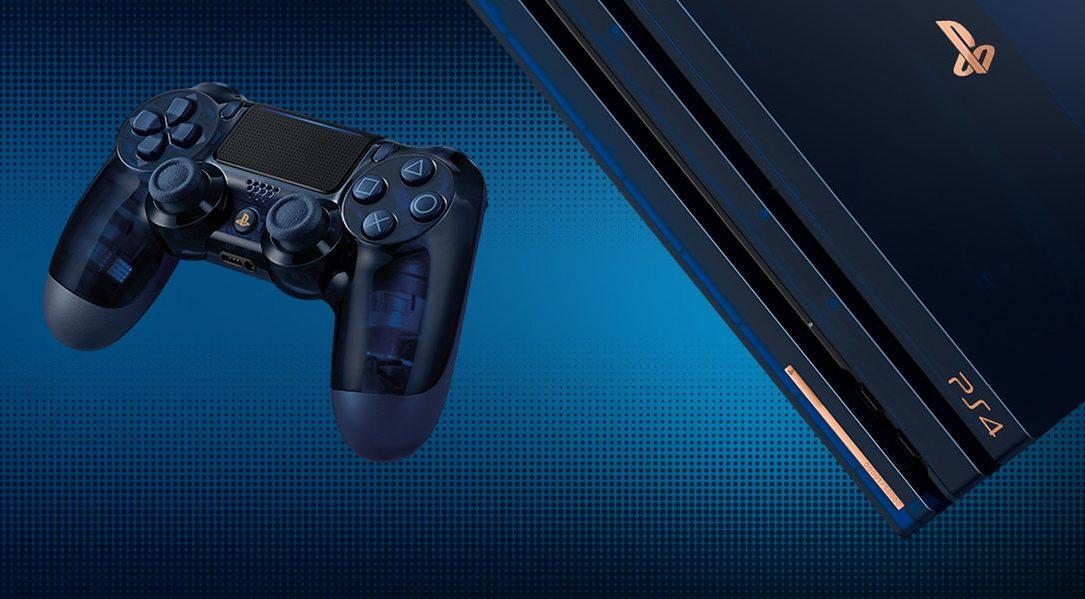 Wir feiern einen unglaublichen Meilenstein in der Geschichte von PlayStation mit der 500 Million Limited Edition PS4 Pro