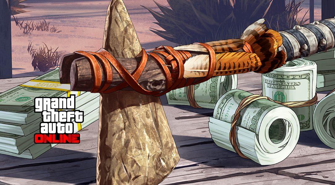 Sichert euch das Stein-Kriegsbeil in GTA Online und Red Dead Redemption 2
