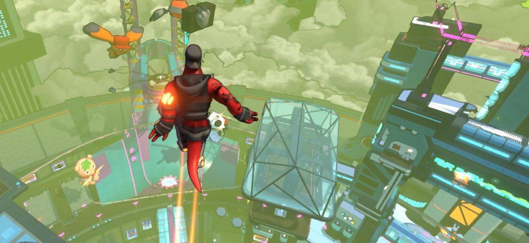 Rasantes Sci-Fi-Parkour-Spiel Hover erscheint nächsten Monat für PS4
