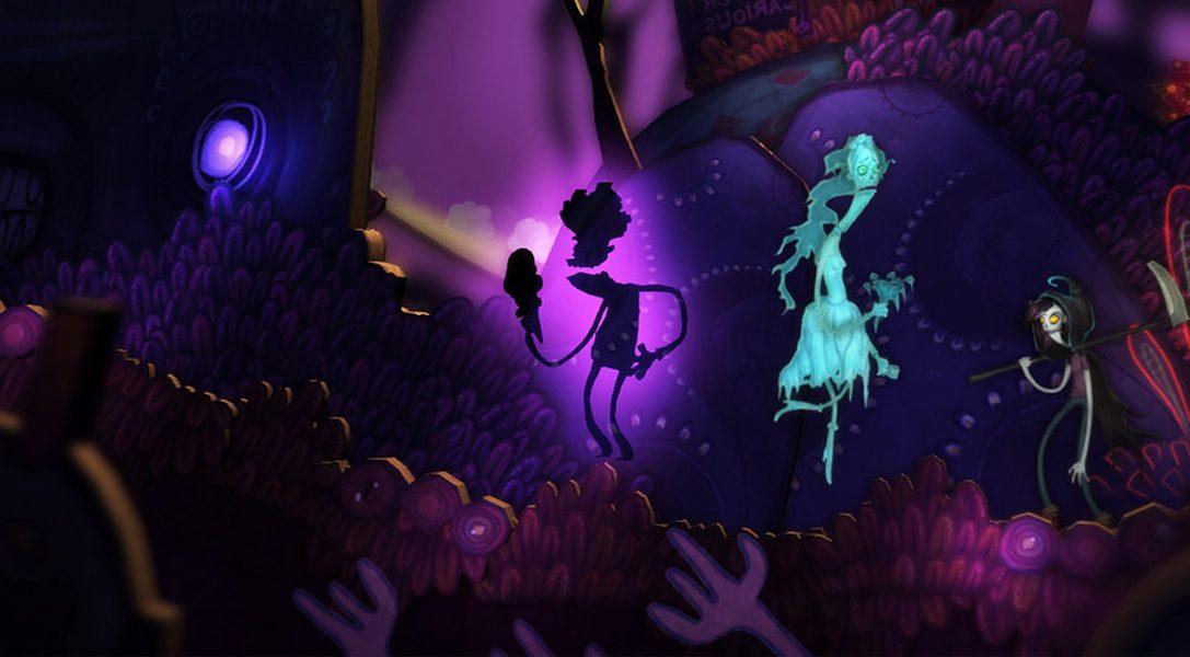 Flipping Death erscheint am 7. August auf PS4
