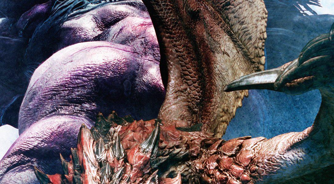 Kampftipps, um die neueste Bedrohung von Monster Hunter: World zu bezwingen – den schrecklichen Behemoth von Final Fantasy XIV
