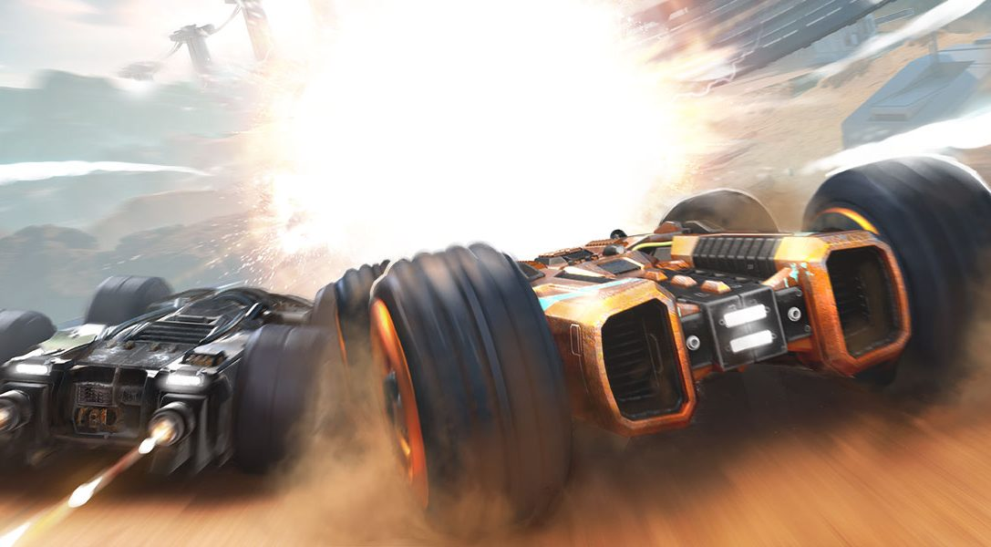 Trotzt der Schwerkraft und durchbrecht im Arcade-Racer GRIP: Combat Racing die Schallmauer – ab dem 6. November für PS4 erhältlich