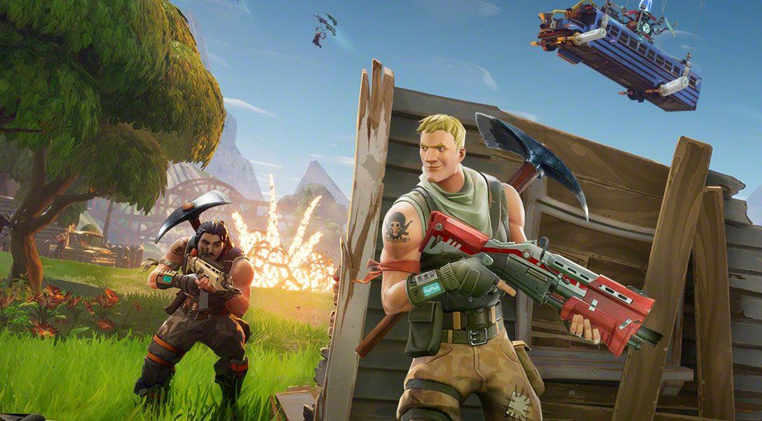 Erweiterte Beta für Fortnite-Crossplay auf der PlayStation 4