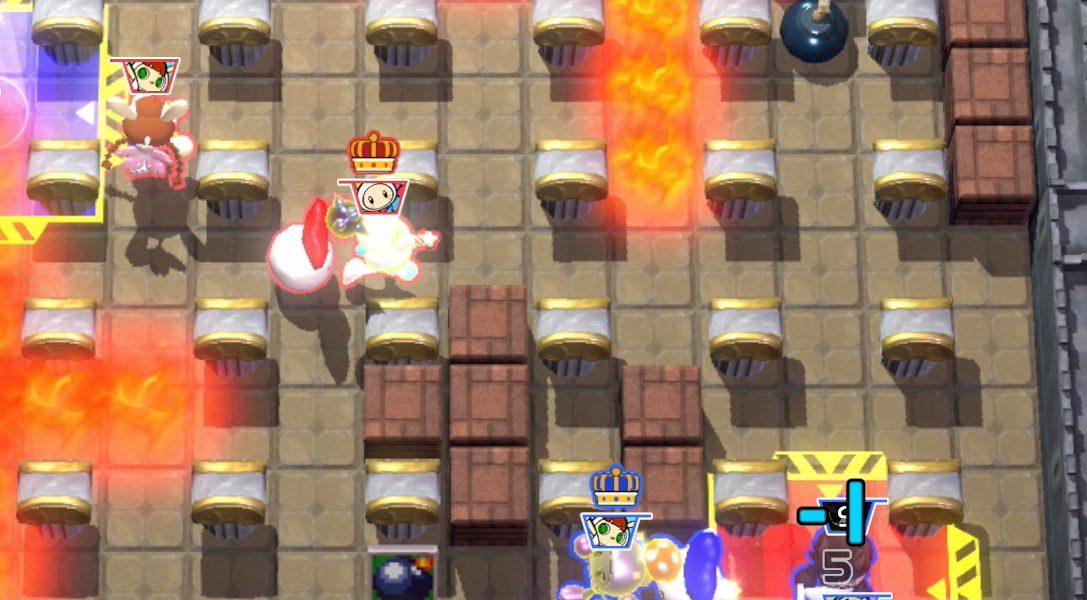 Castlevania Maps im neuen Super Bomberman R Update, erscheint heute auf PS4