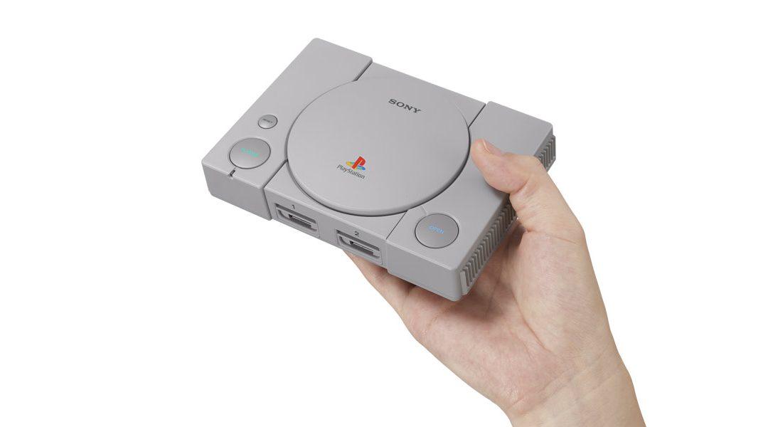 Wir präsentieren: die PlayStation Classic – mit 20 vorinstallierten Spielen