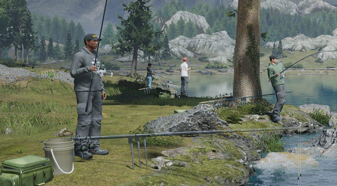 Fishing Sim World erscheint heute auf PS4