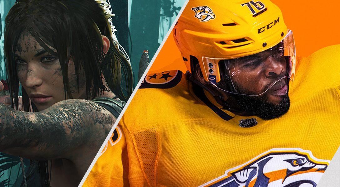 Die PlayStation Store-Highlights der Woche: Shadow of the Tomb Raider und EA Sports NHL 19