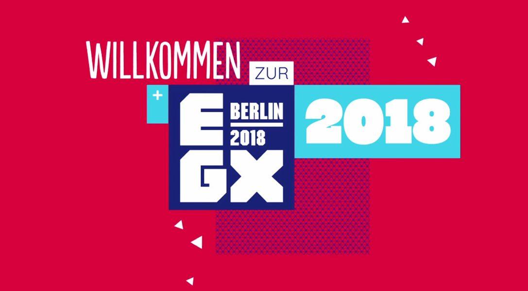 PlayStation bringt die volle Action auf die EGX 2018 in Berlin
