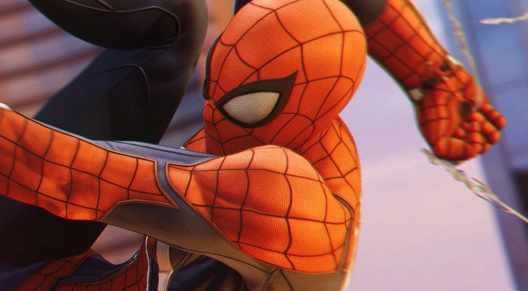 Marvel's Spider-Man für PS4 schwingt sich heute in die Geschäfte