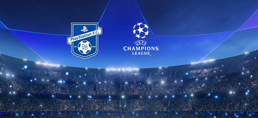 Tretet dem PlayStation F.C. bei und gewinnt mit etwas Glück Tickets für die UEFA Champions League