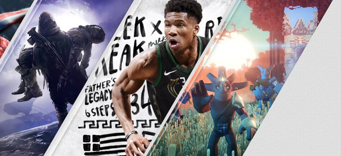 Die PlayStation Store-Highlights der Woche: Marvel's Spider-Man, Destiny 2: Forsaken, NBA 2K19, V-Rally und Boundless