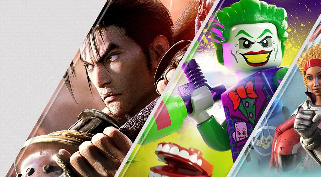 Diese Woche neu im PlayStation Store: SoulCalibur VI, Lego DC Super-Villains und mehr