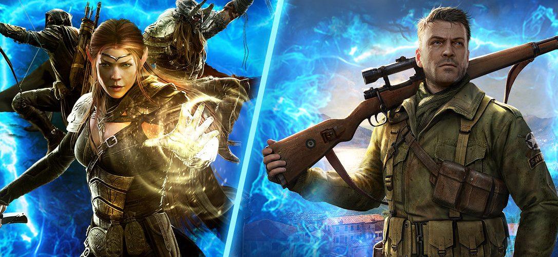 The Elder Scrolls Online & Sniper Elite 4 kommen diese Woche zu PlayStation Now
