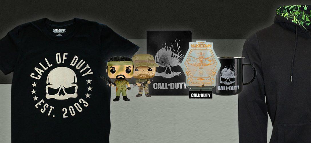 Schnappt euch diese Woche auf PlayStation Gear Rabatte bei vielen Merchandising-Artikeln zu Call of Duty