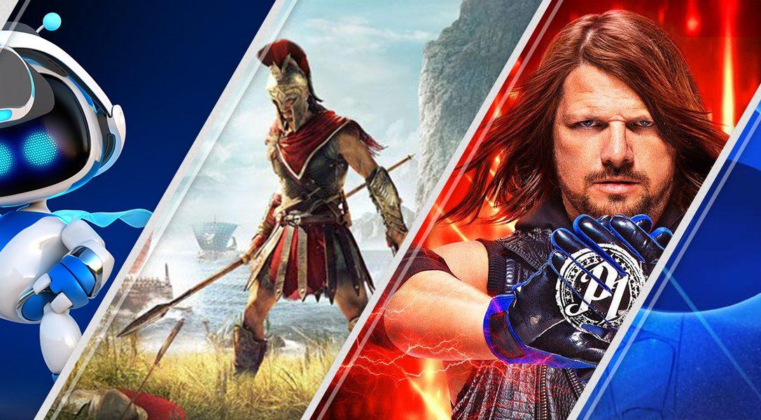 Diese Woche neu im PlayStation Store: Astro Bot Rescue Mission, Assassin's Creed Odyssey und mehr