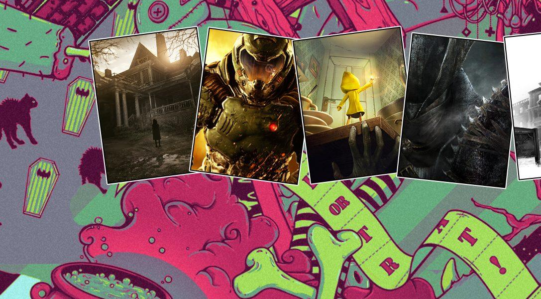 12 vergünstigte PS-Horrorklassiker sorgen für den perfekten Halloween-Spieleabend