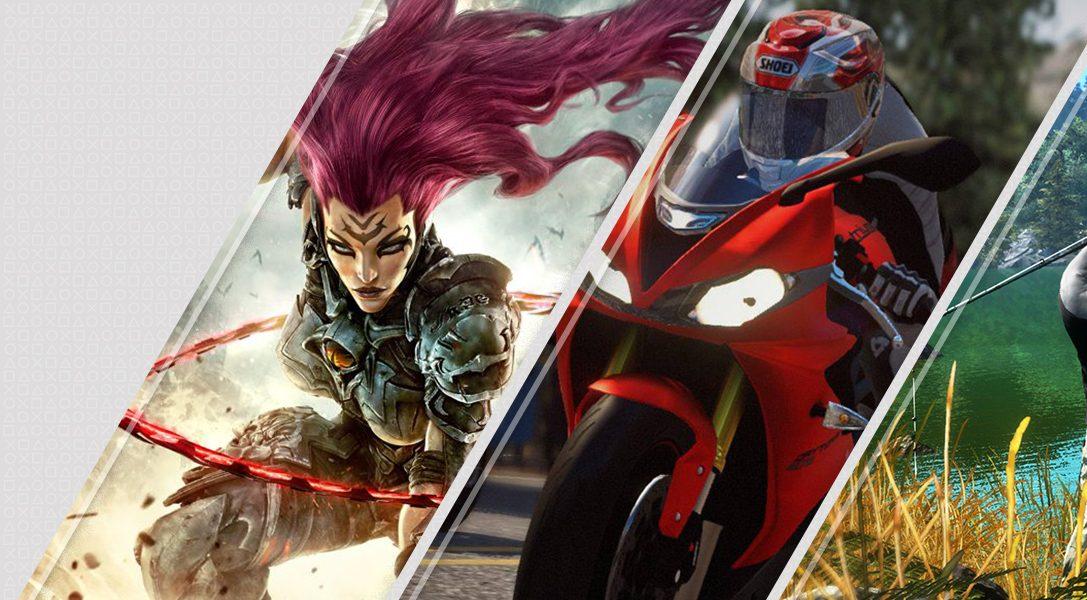Diese Woche neu im PlayStation Store: Darksiders III, RIDE 3, Pro Fishing Simulator und mehr