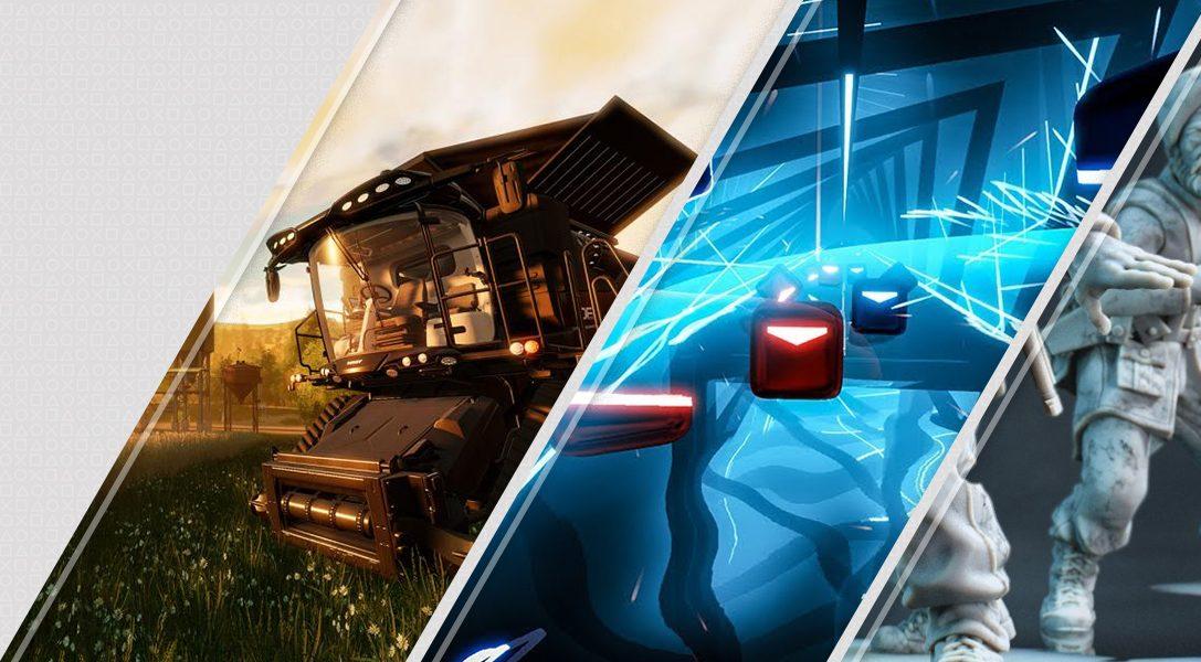Diese Woche neu im PlayStation Store: Landwirtschafts-Simulator, Beat Saber, Rush VR und mehr