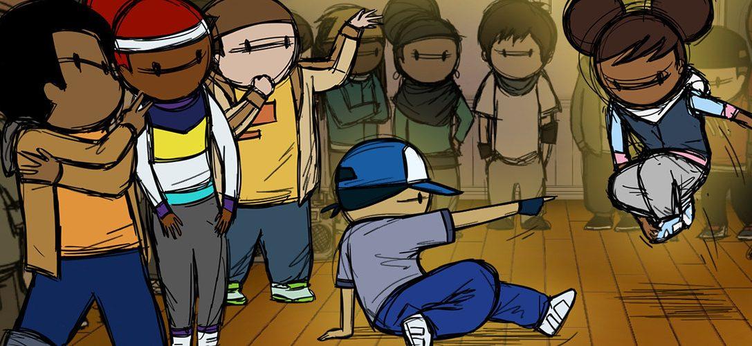 10000 Zeichnungen waren notwendig, um das Breakdance-Spiel Floor Kids zu entwickeln