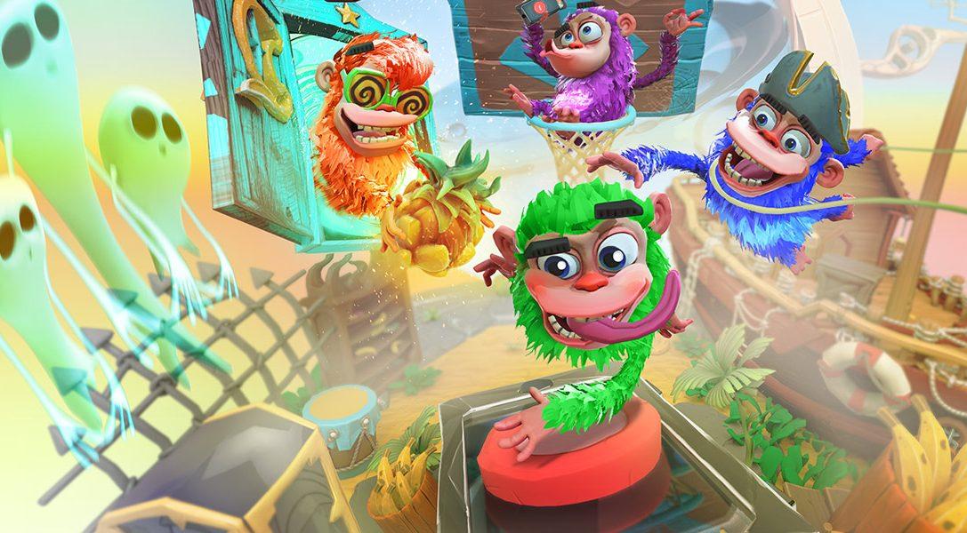 Chimparty bietet familienfreundliche Brettspiel-Action mit PlayLink auf PS4