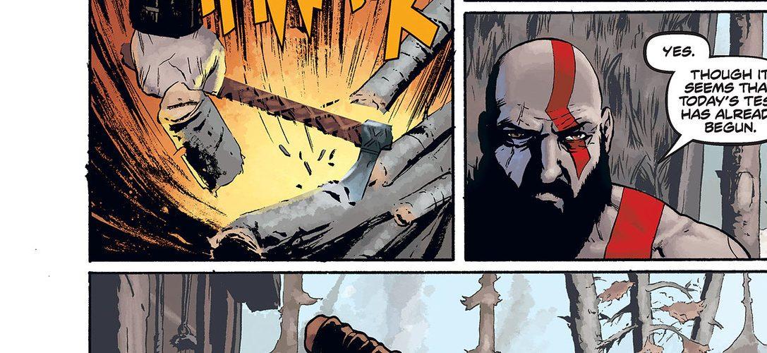 Sichert euch noch vor seinem Erscheinen nächste Woche eine exklusive Vorschau auf den Prequel-Comic zu God of War