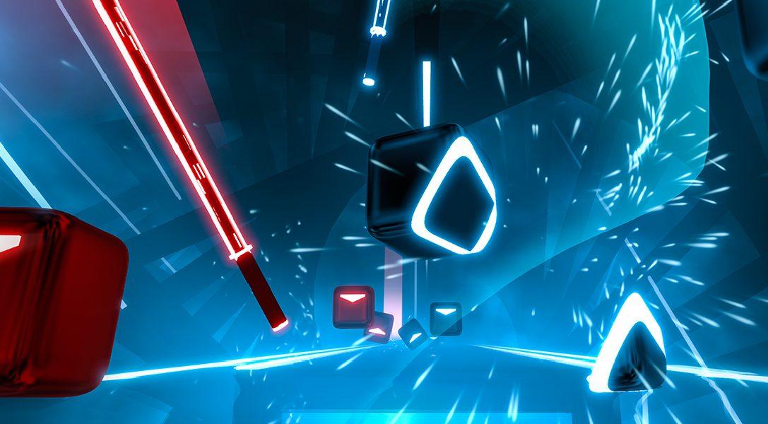 Das Erscheinungsdatum des Action-Rhythmus-Spiels Beat Saber für PS VR wurde bekanntgegeben
