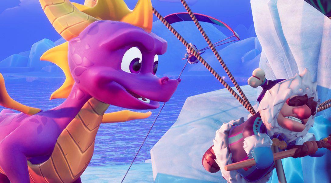 """Spyro spuckt wieder Feuer: Mitglieder des """"Toys For Bob""""-Teams geben Einblicke in die fantastische Entwicklung der Spyro Reignited Trilogy"""