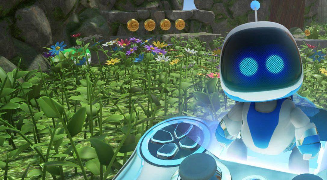 Astro Bot: Rescue Mission gewinnt den VR Video Game Award 2018!