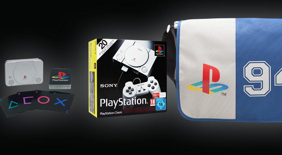 Wir präsentieren das PlayStation Classic Collector's Bundle