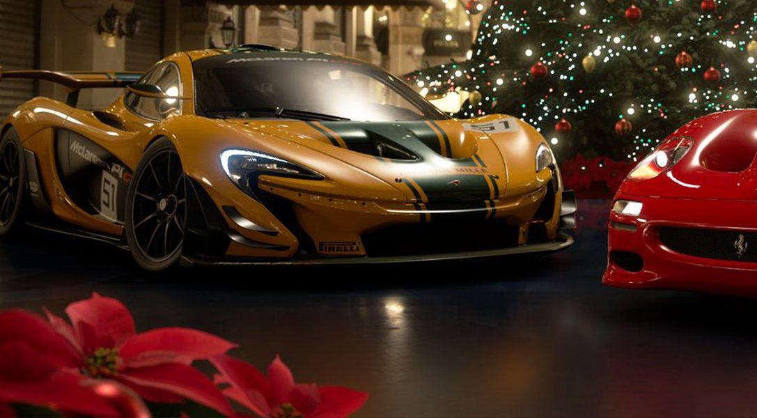 In der Dezember-Aktualisierung von GT Sport erwarten euch eine neue Rennstrecke, sieben neue Fahrzeuge und eine saisonale Scapes-Einstellung