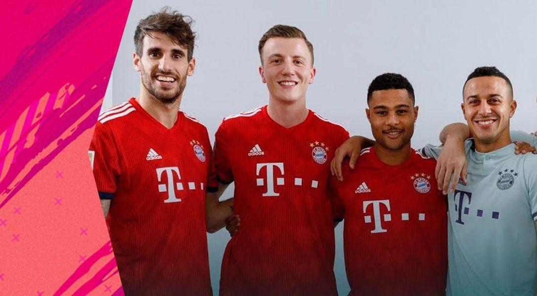Der FC Bayern bei der FIFA 19 World Tour