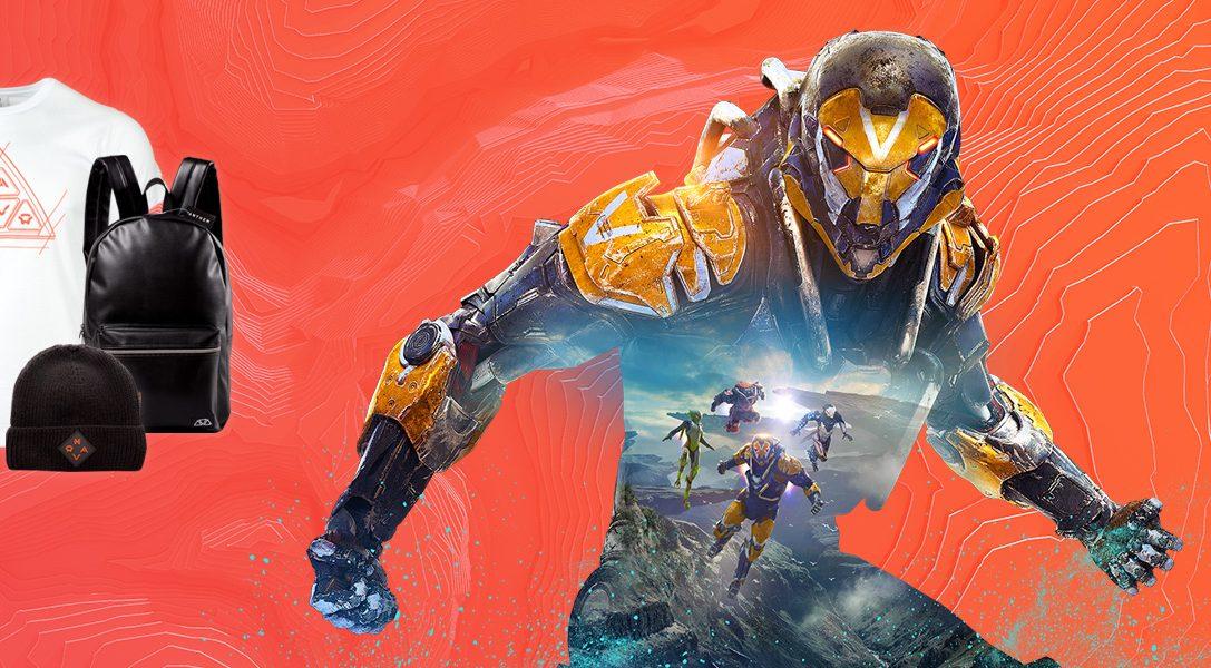 Offizielles Merchandise zu Anthem jetzt auf PlayStation Gear erhältlich
