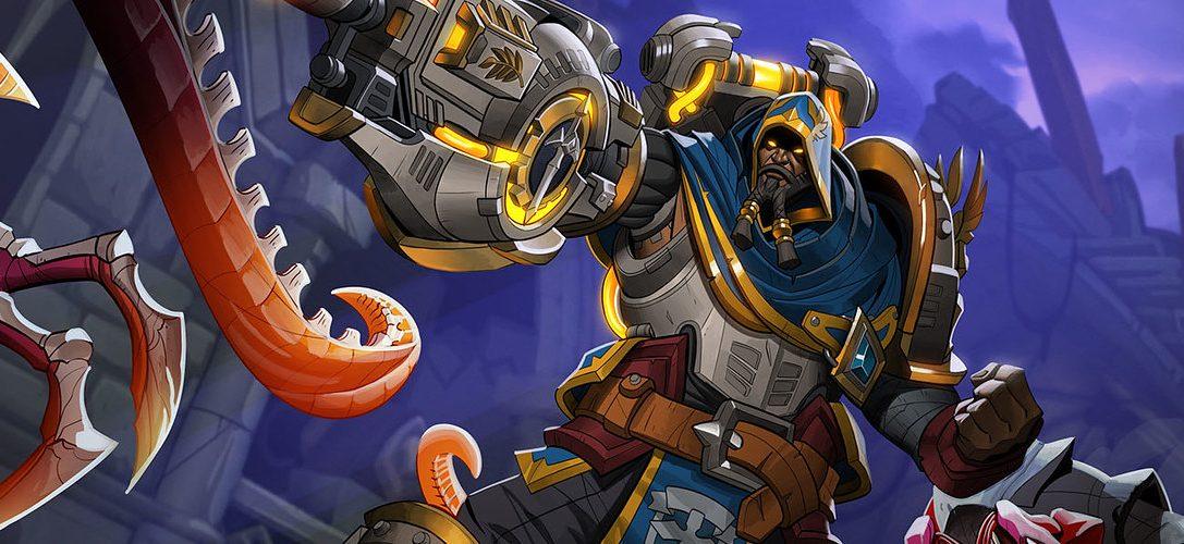Der Fantasy-Shooter Paladins stellt seinen neuen Champion vor: Atlas