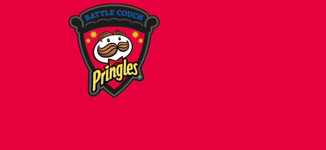 Heute findet der Livestream der Pringles Battle Couch statt, auf der 100 PlayStation-Spieler gegeneinander antreten