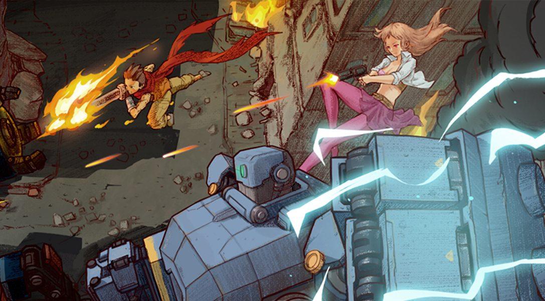 AngerForce: Reloaded erscheint am 2. April auf PS4