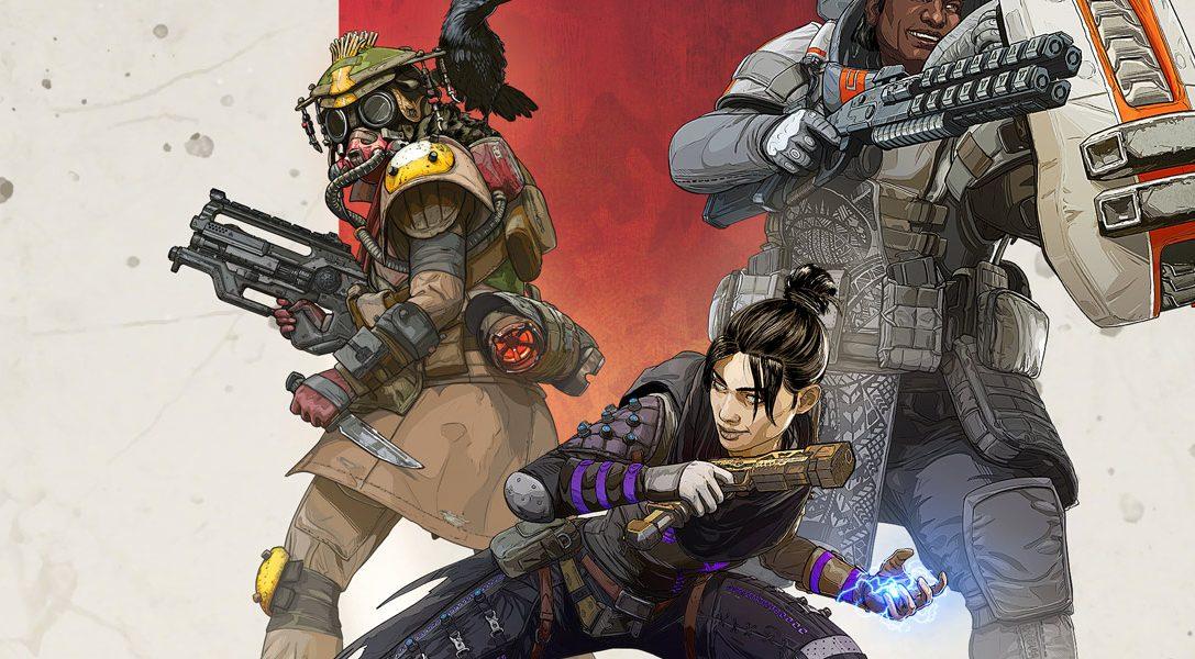 Entfesselt in Wild Frontier, der 1. Saison von Apex Legends, die Bestie in euch – ab morgen für PS4 erhältlich